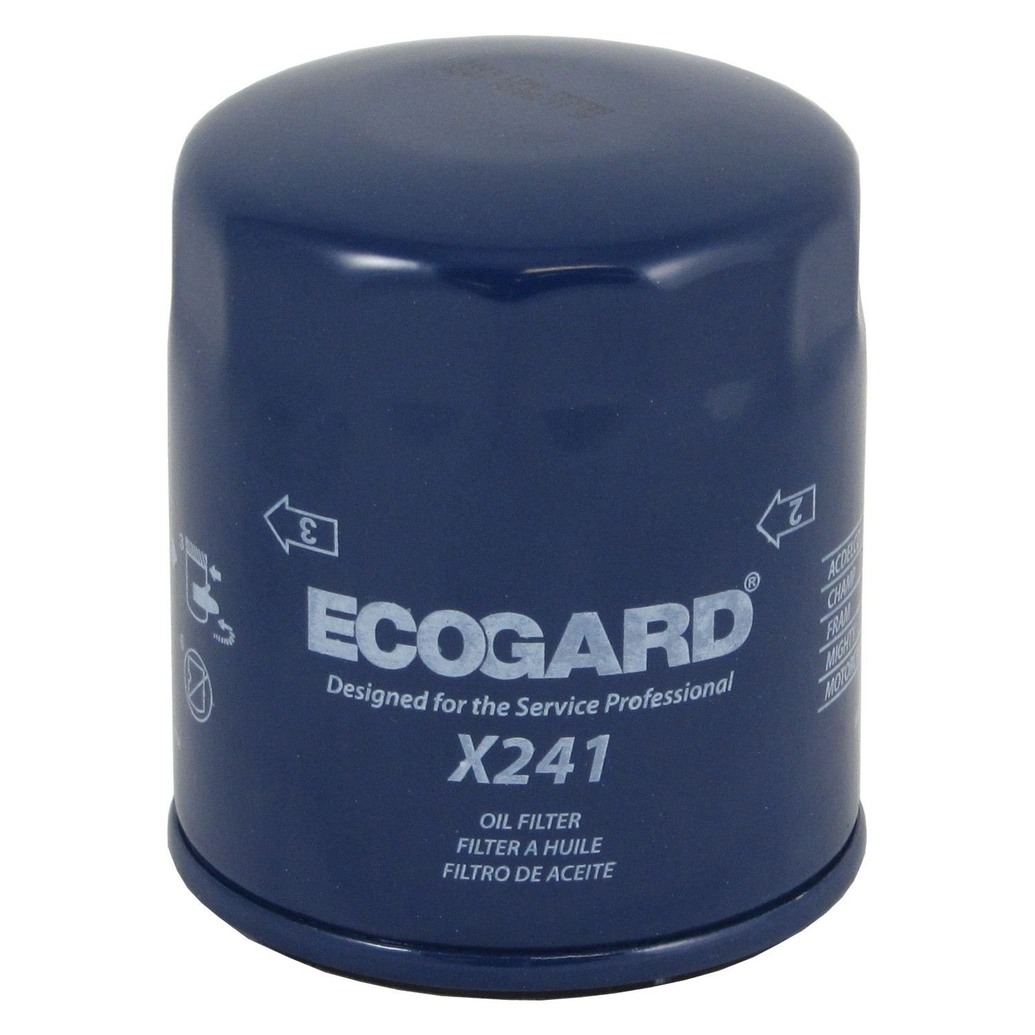 Ford Edge Engine Oil Filter Main  L Ecogard X Ecogard Part Note Conventional Media