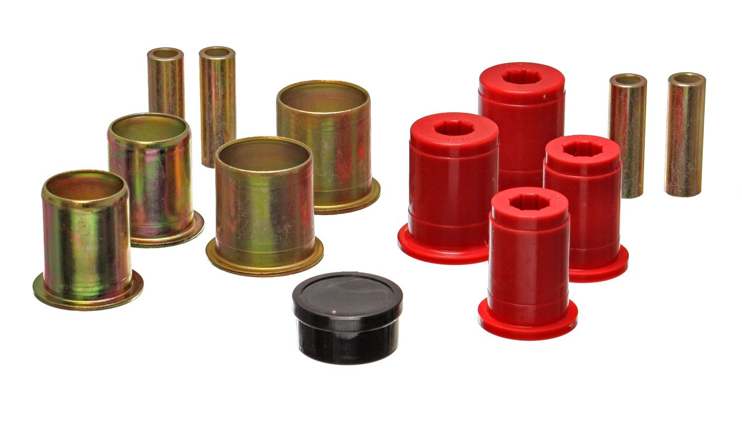 GM Energy Suspension Control Arm Bushing Kit 3.3172R; Red for Chevy