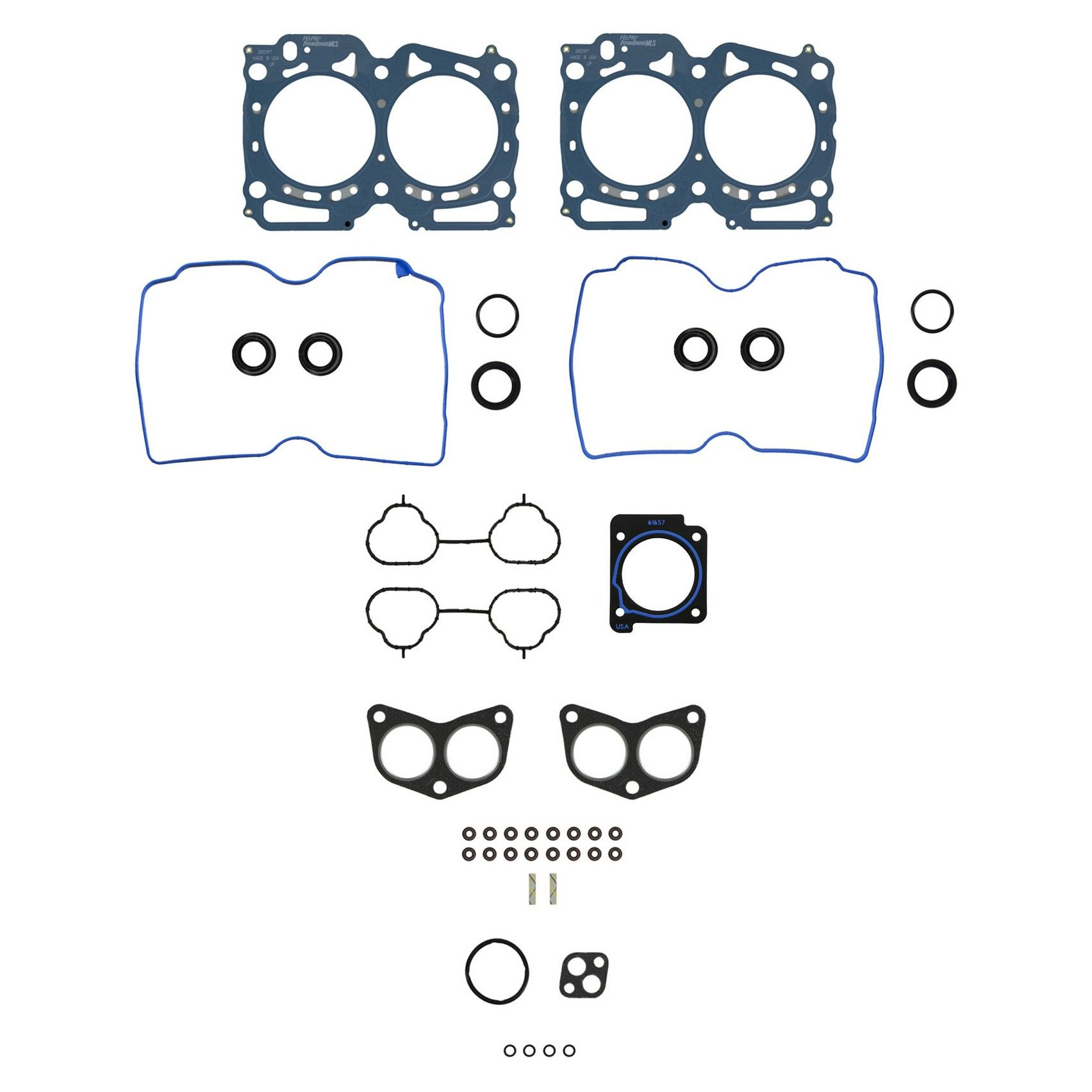 Subaru Outback Engine Cylinder Head Gasket Set Replacement Beck 1998 2010 4 Cyl 25l Felpro Hs 26531 Pt 3 Bolt Required Bolts Not Incl