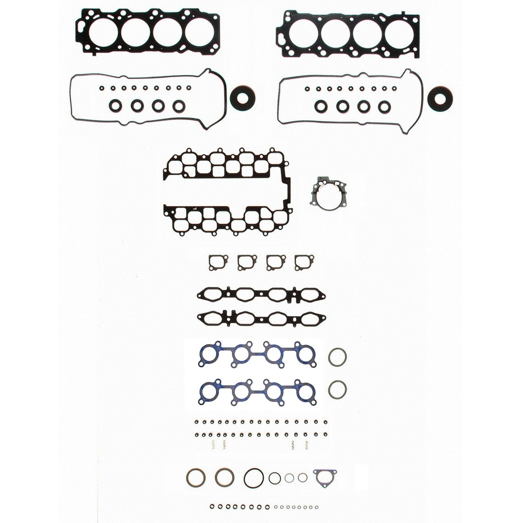 Toyota Land Cruiser Engine Cylinder Head Gasket Set Replacement 1973 Gaskets 1998 8 Cyl 47l Felpro Hs 26226 Pt Bolts Not Incl Bolt Recommended Permadry