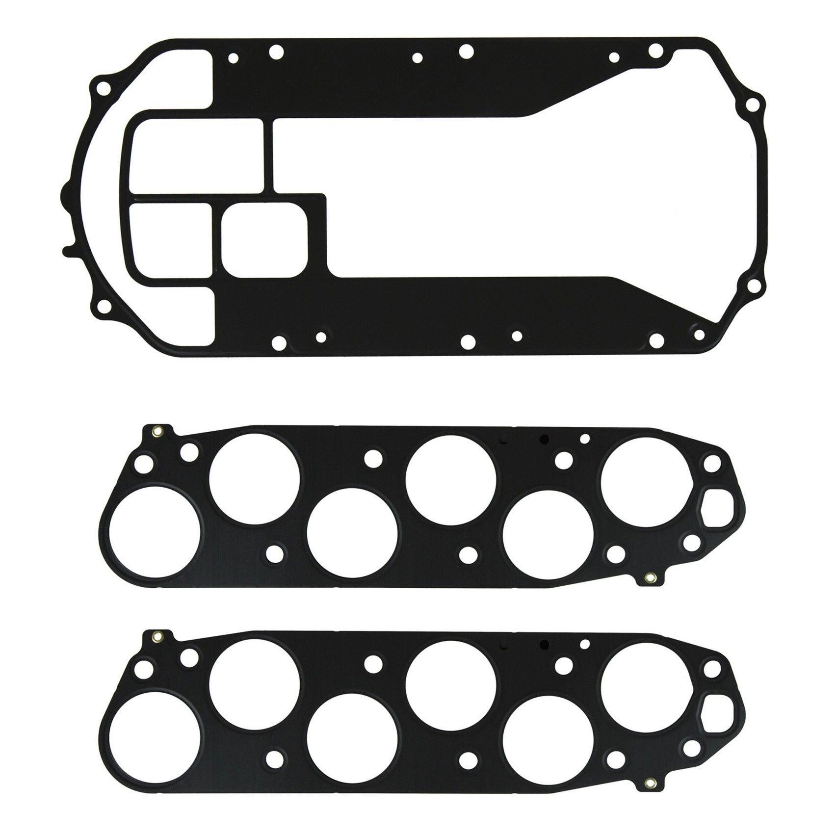 2000 Acura TL Fuel Injection Plenum Gasket Set 6 Cyl 3.2L (FelPro MS  96384-3) Plenum Gaskets Only Upper set .