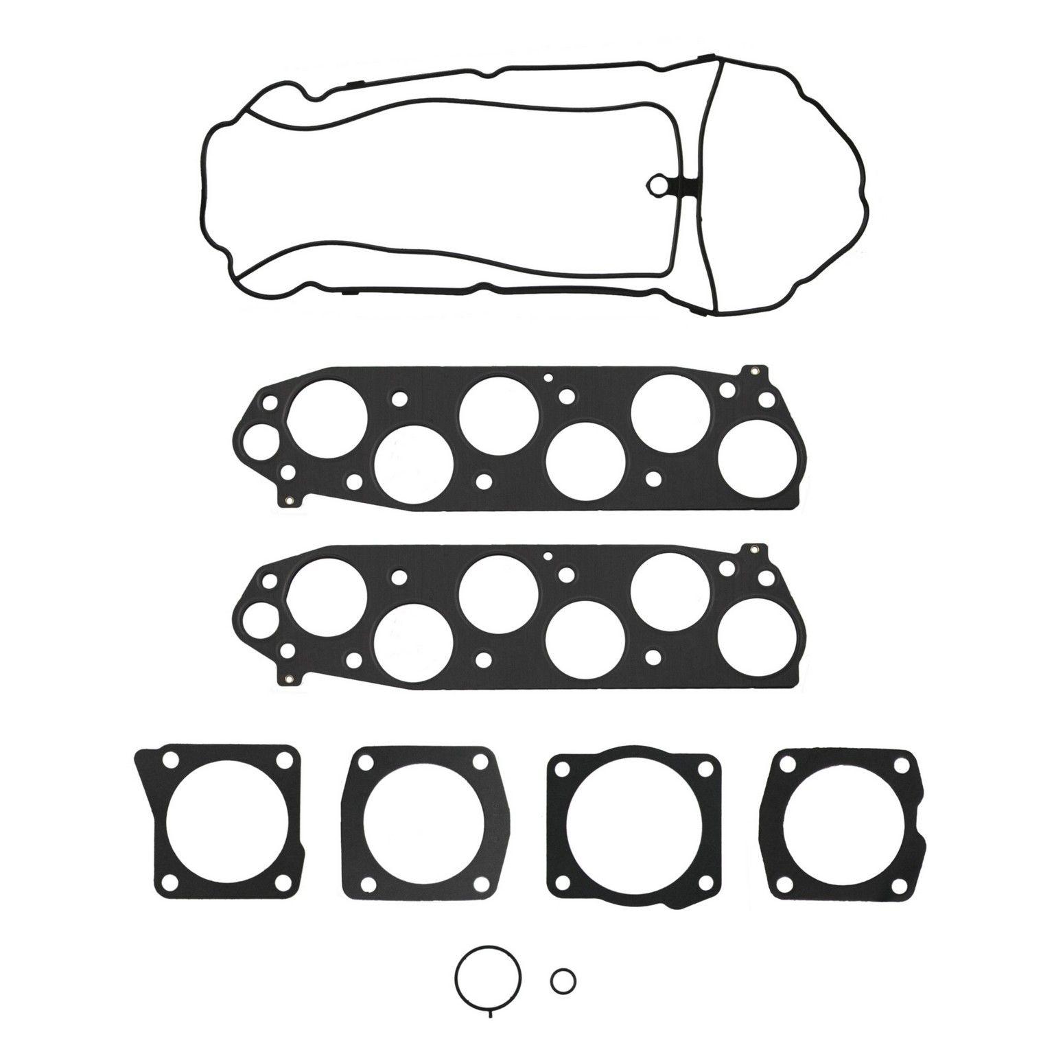 2007 Acura TL Fuel Injection Plenum Gasket Set 6 Cyl 3.5L (FelPro MS  96409-3) Improved design Plenum Gasket Set Upper set .