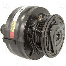 1992 GMC K2500 A/C Compressor 8 Cyl 7.4L Four Seasons