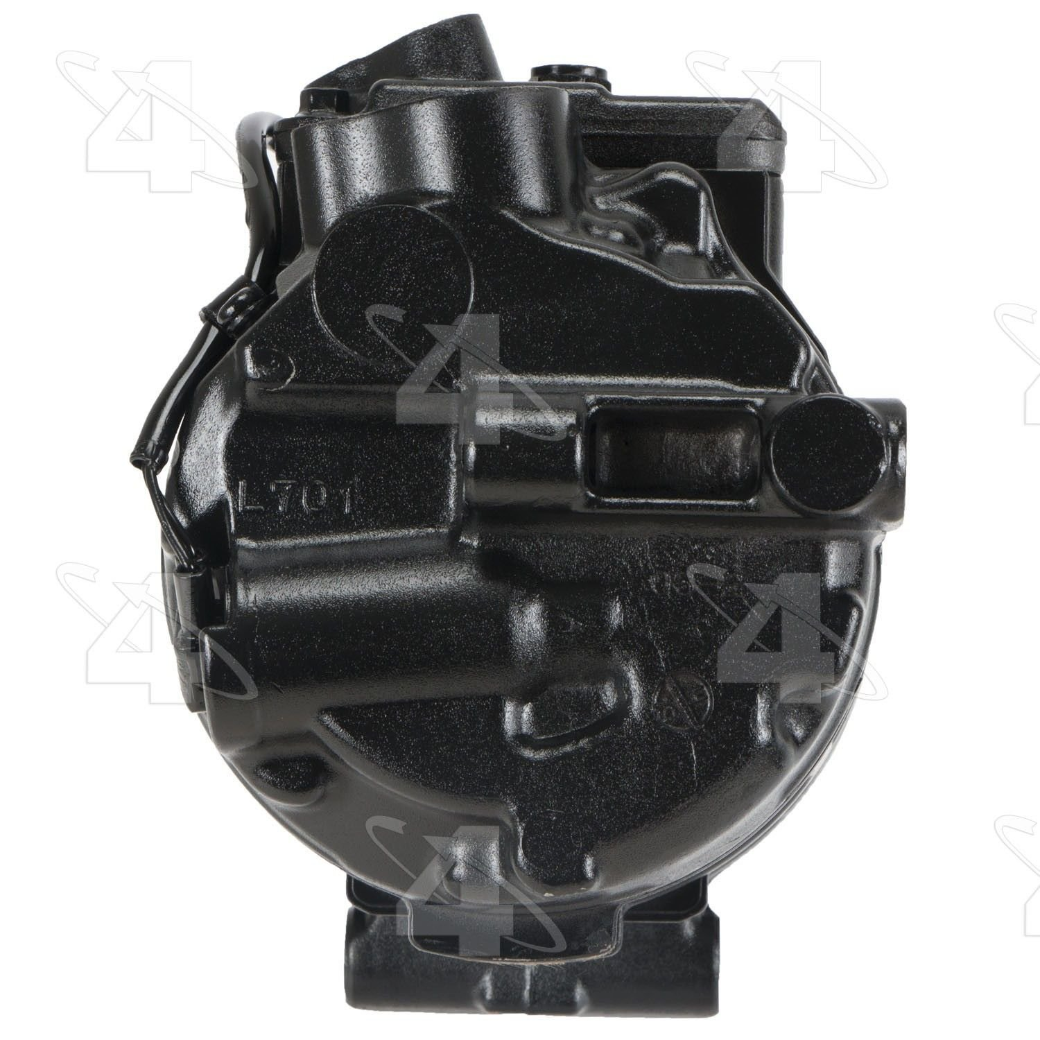 Mercedes Benz Ml350 A C Compressor Replacement Four Seasons Global 2005 Parts 97356 With 7seu17c Reman Clutch 6 Groove Pulley 4 Diameter May