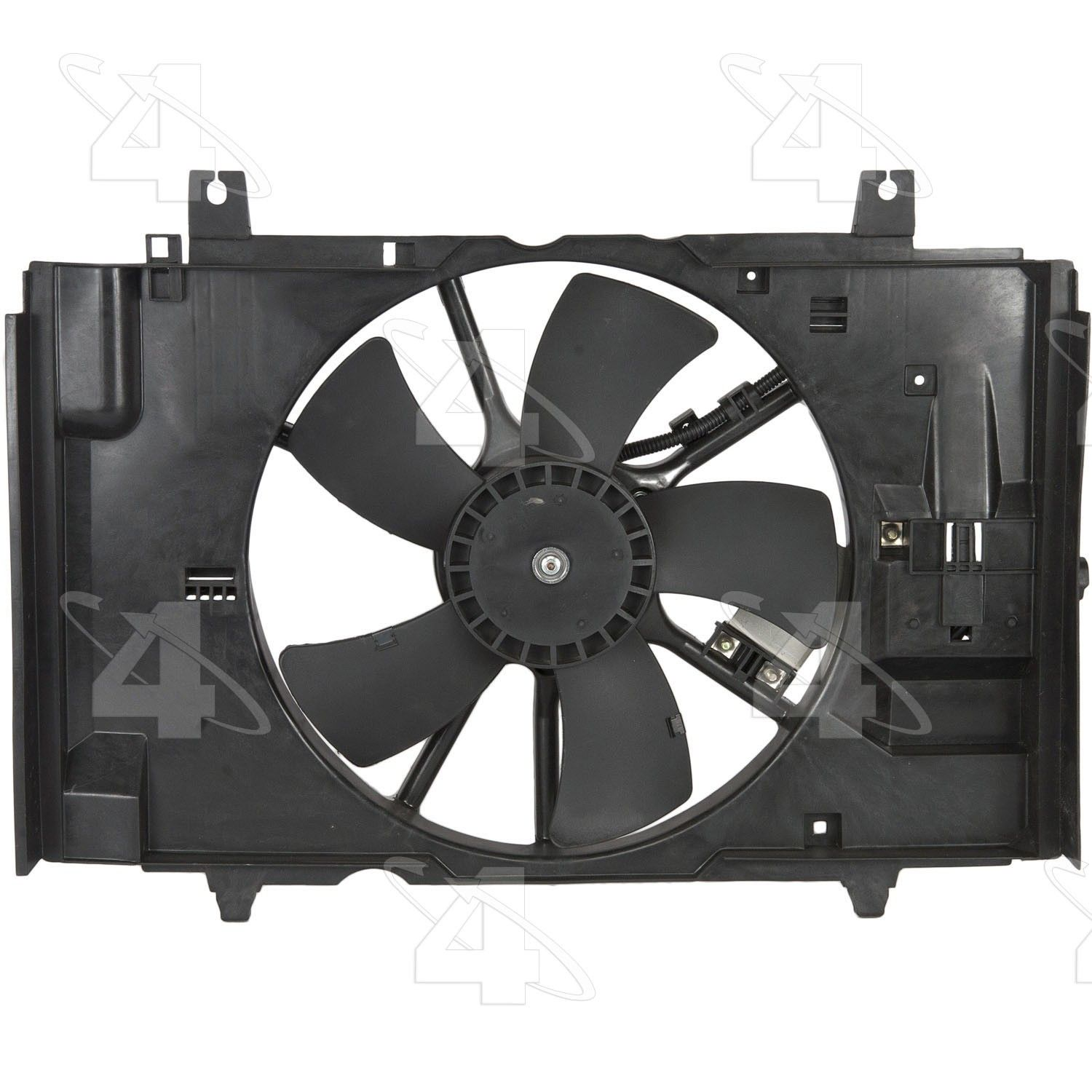 2007 Nissan Versa Engine Cooling Fan Embly Four Seasons 76201