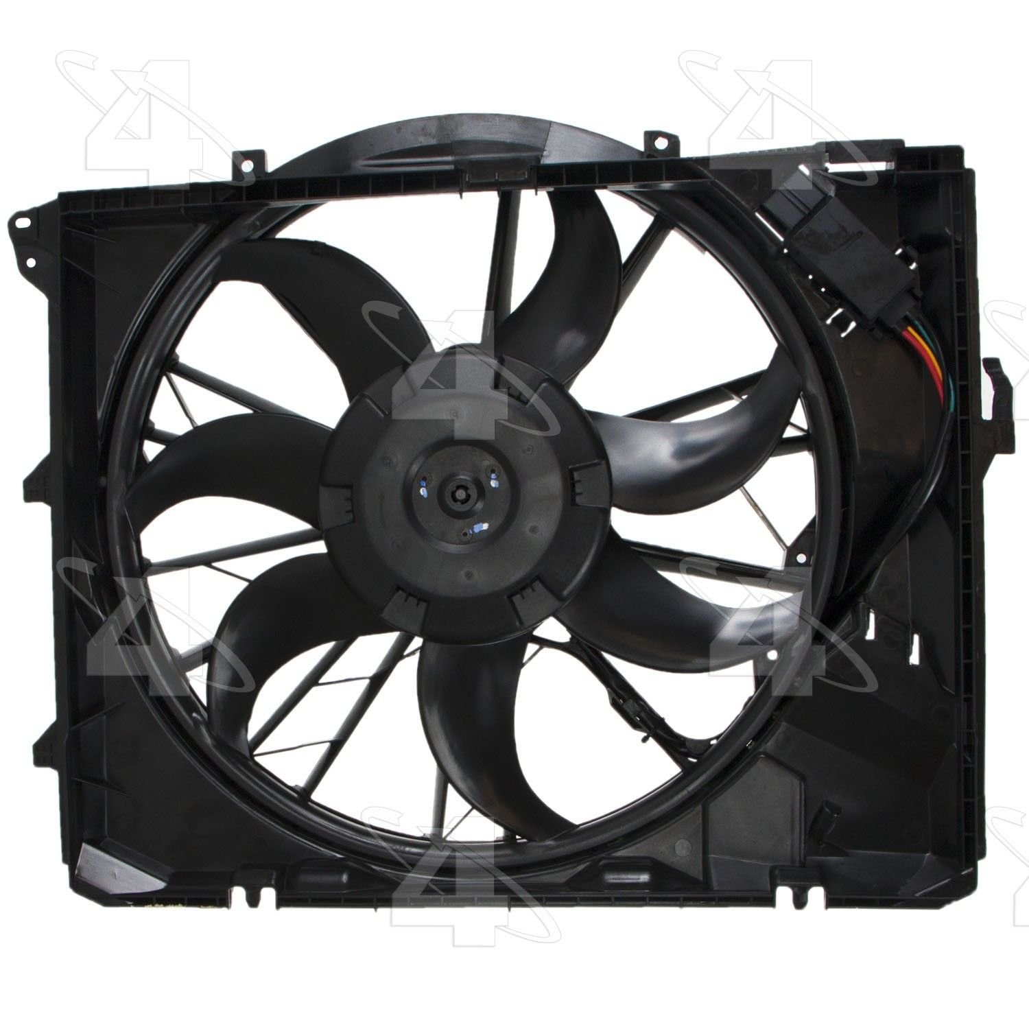 BMW 328i Engine Cooling Fan Assembly Replacement (ACM, APA