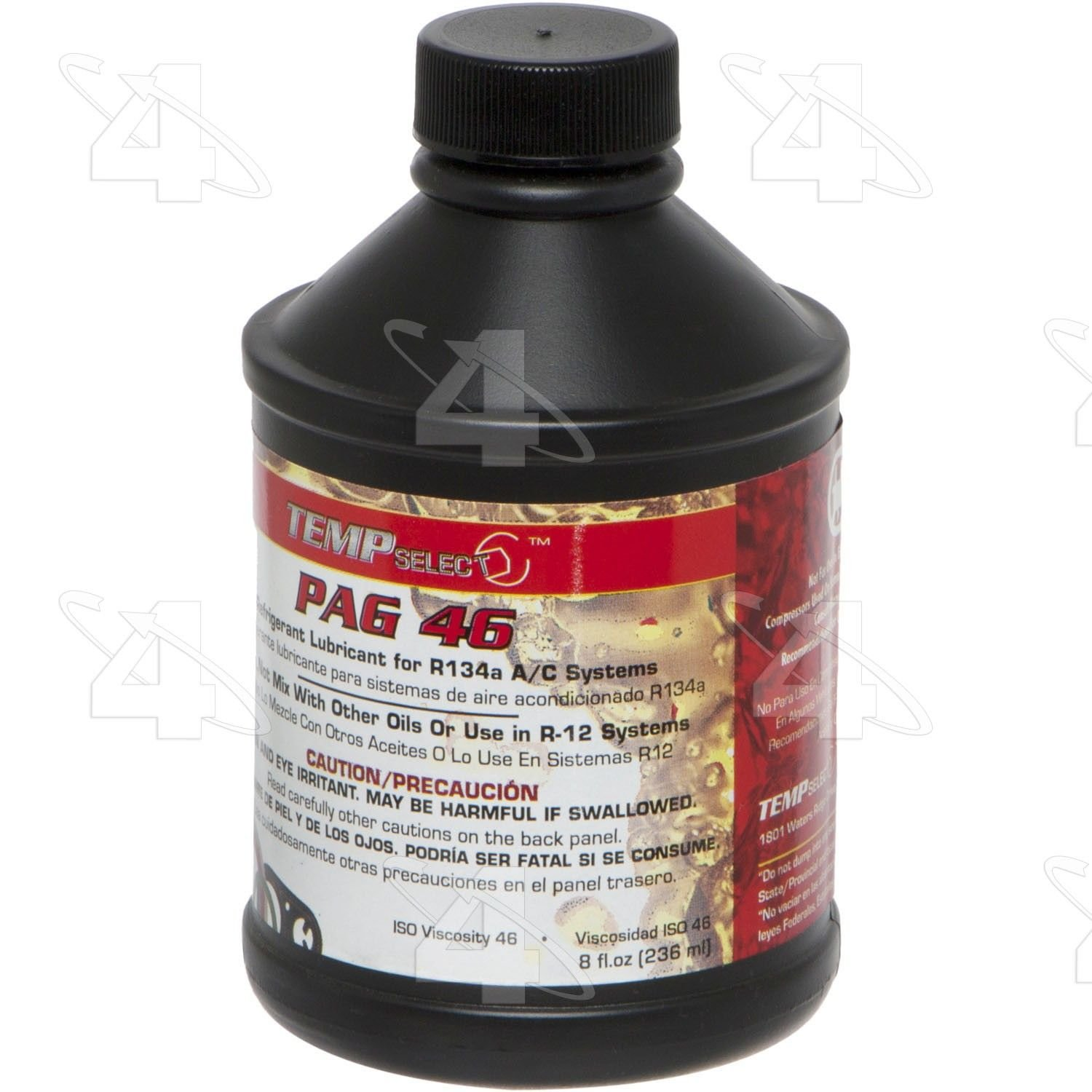 Ford F-250 Super Duty Refrigerant Oil Replacement (Four