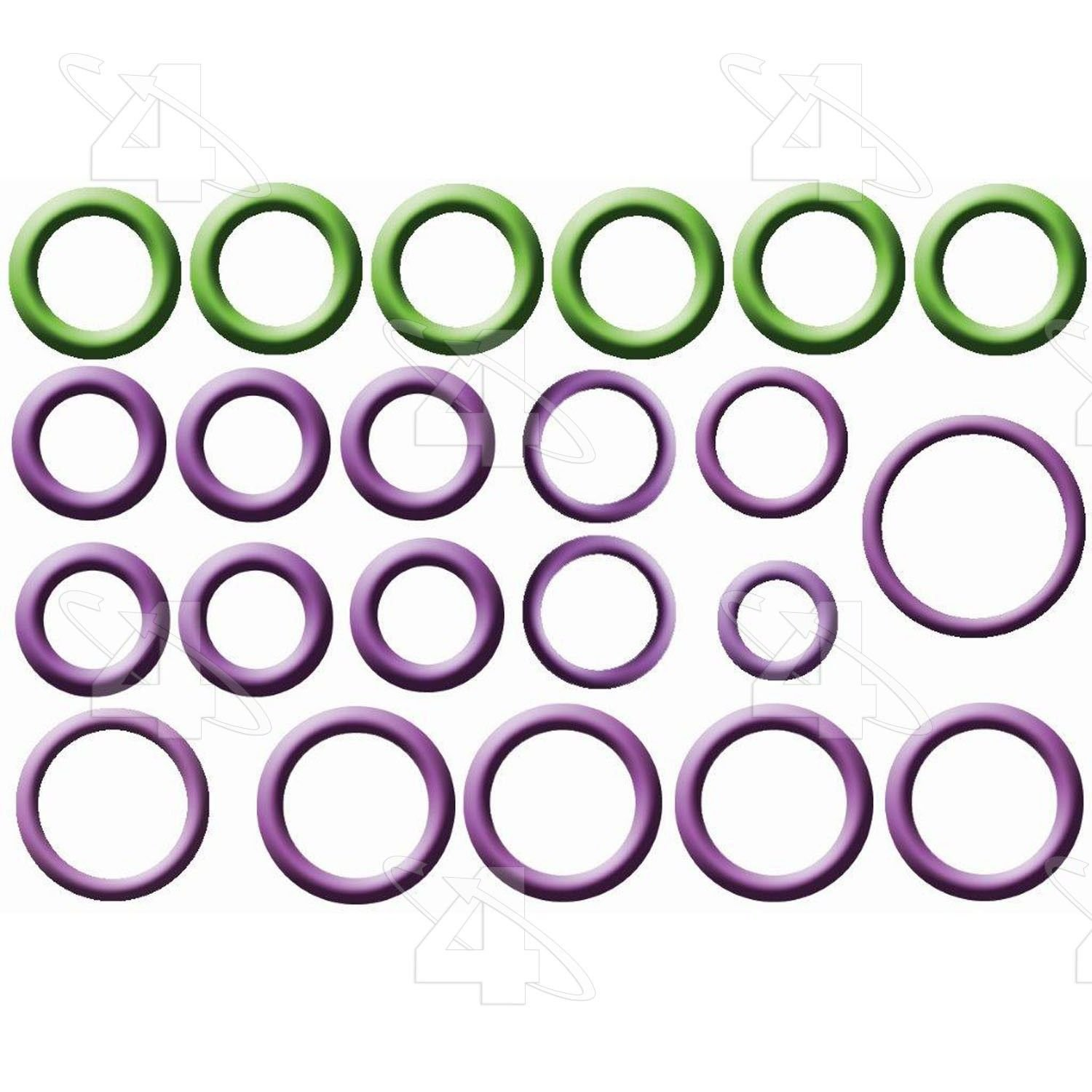 A//C System O-Ring and Gasket Kit Global 1321350