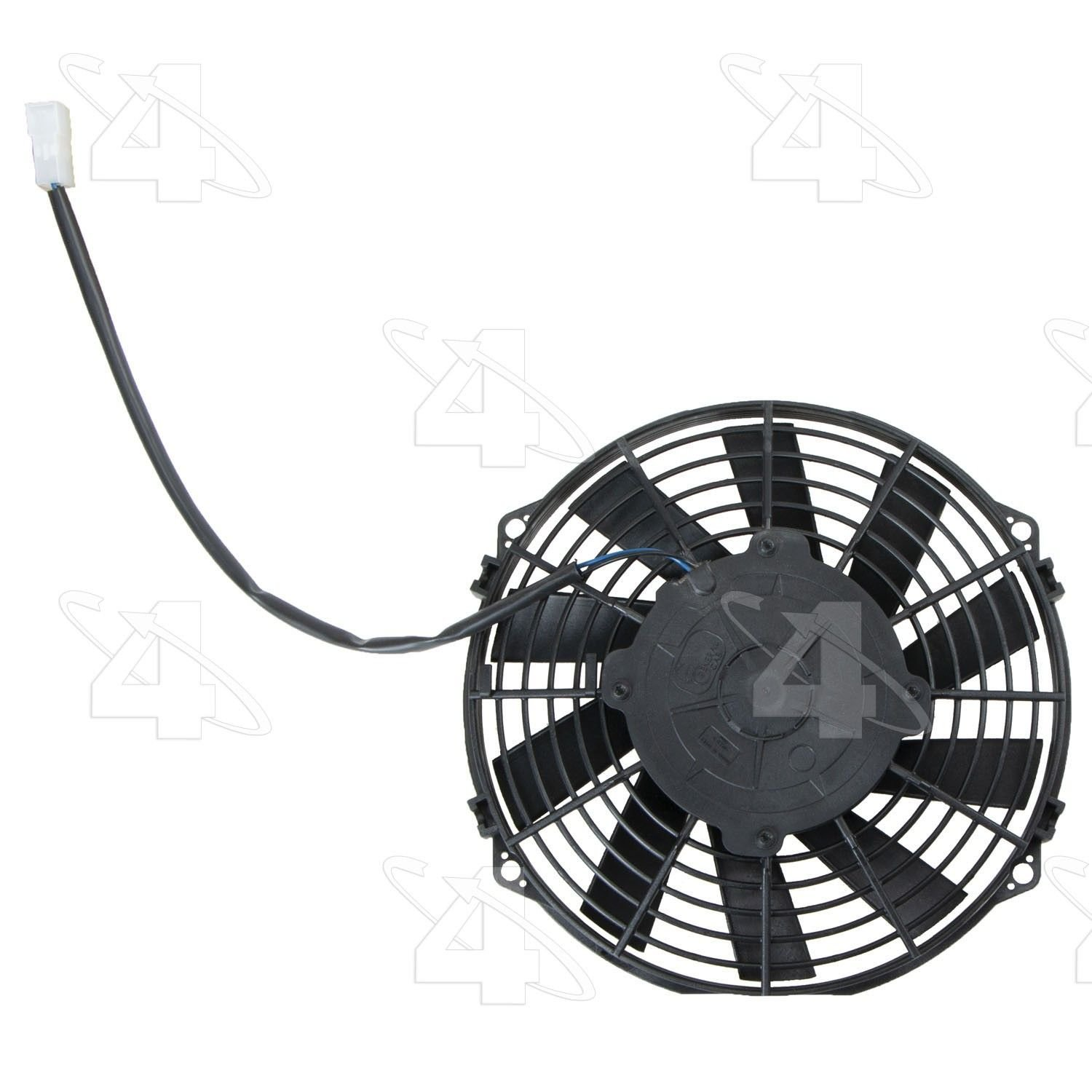 Jeep Commander Engine Cooling Fan Replacement (Four Seasons, Hayden