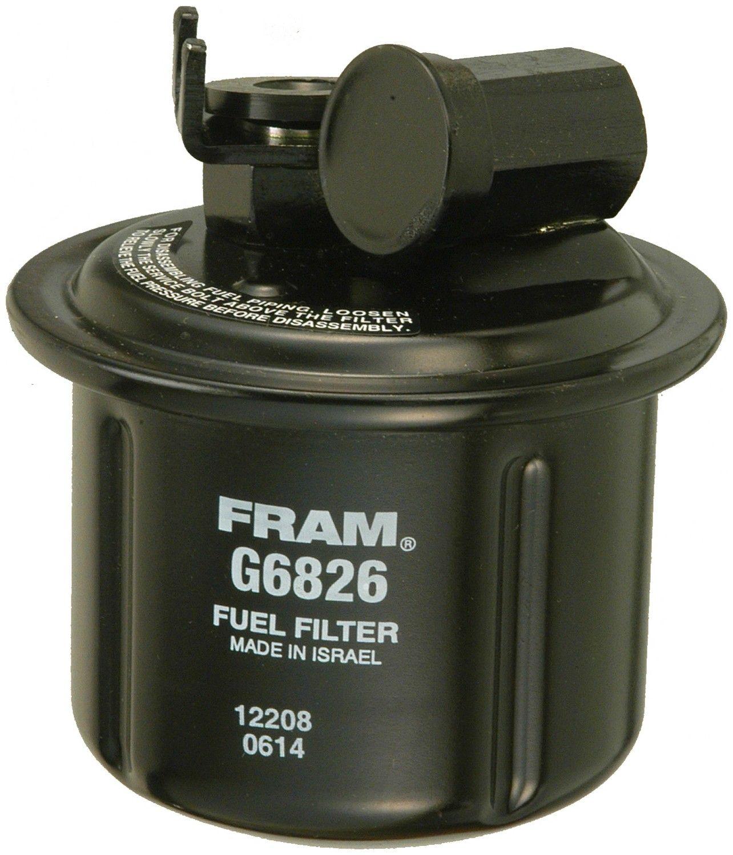 1993 Honda Civic del Sol Fuel Filter 4 Cyl 1.5L (Fram G6826) In-Line Fuel  Filter Unit box product .