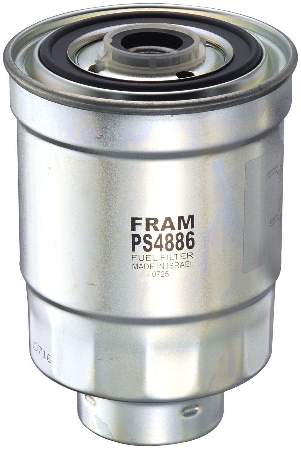 1985 Dodge Ram 50 Fuel Filter 4 Cyl 2.3L (Fram PS4886) Spin-on Fuel Water  Separator Filter .