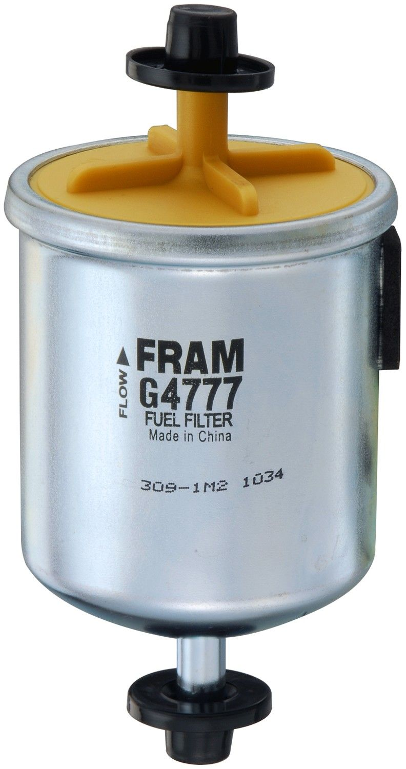 1999 Nissan Frontier Fuel Filter 4 Cyl 2.4L (Fram G4777) In-Line Fuel Filter  Unit box product .