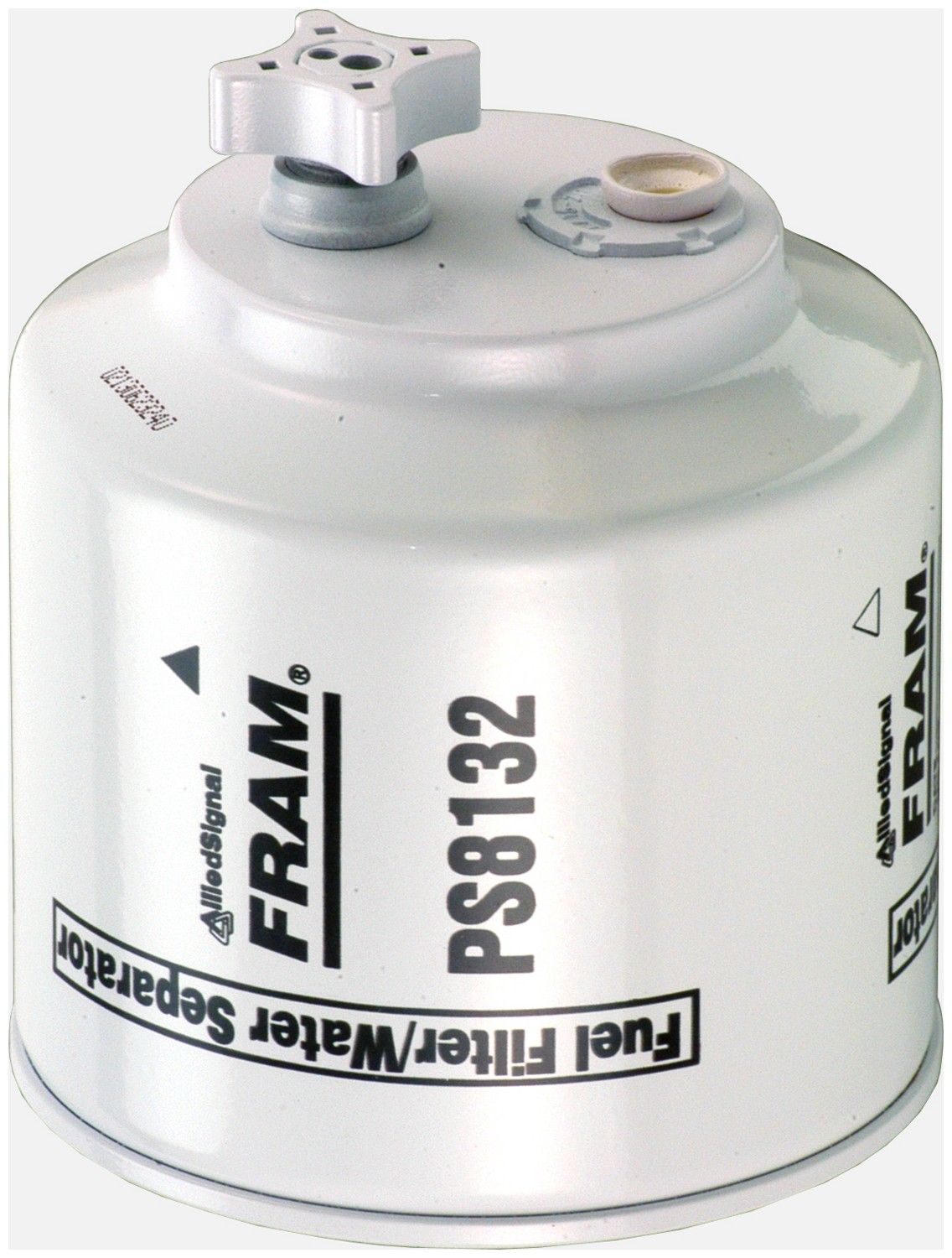 1990 Ford F Super Duty Fuel Filter 8 Cyl 7.3L (Fram PS8132) One piece  spin-on filter, with water sensor port Spin-on Fuel Water Separator Filter .