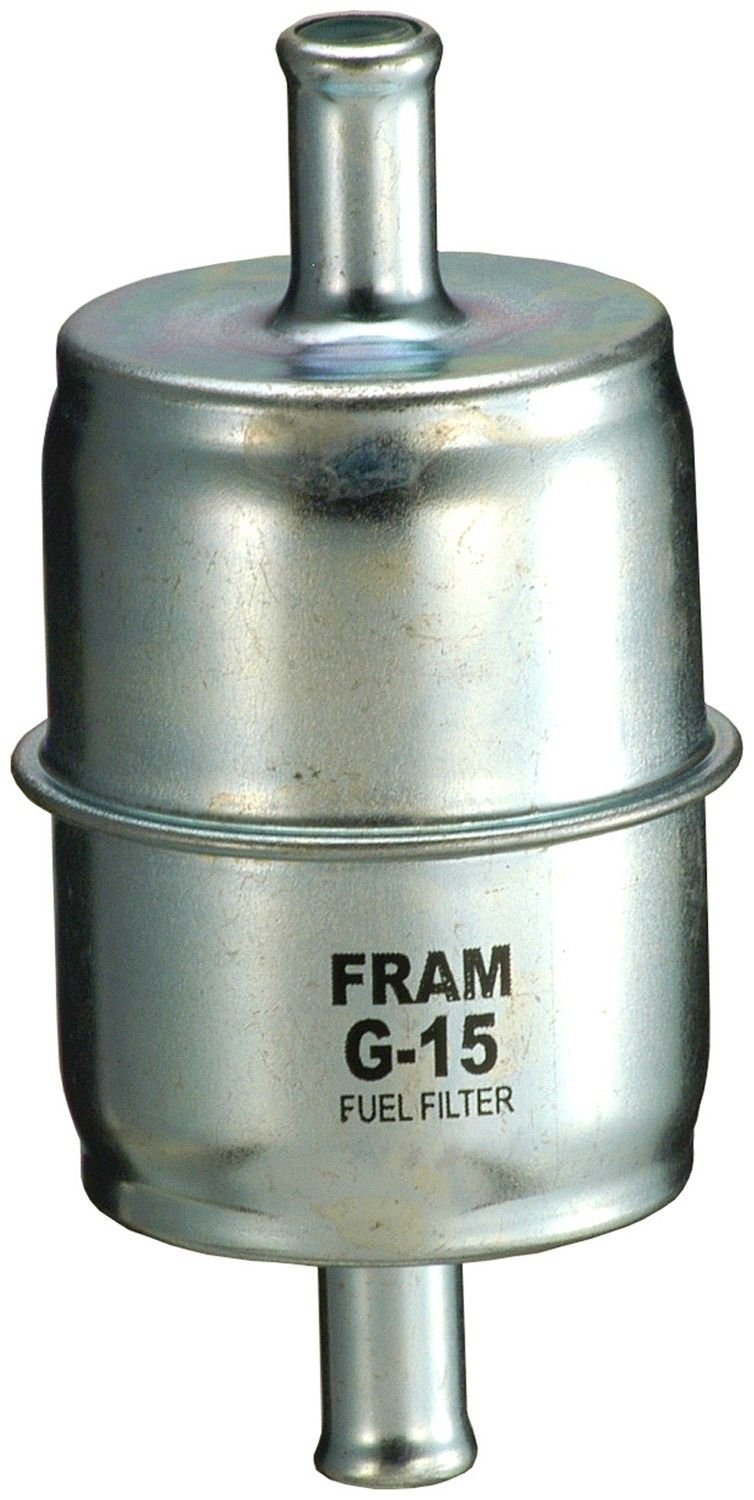 1959 Pontiac Bonneville Fuel Filter 8 Cyl 6.4L (Fram G15) In-Line Fuel  Filter Unit box product .