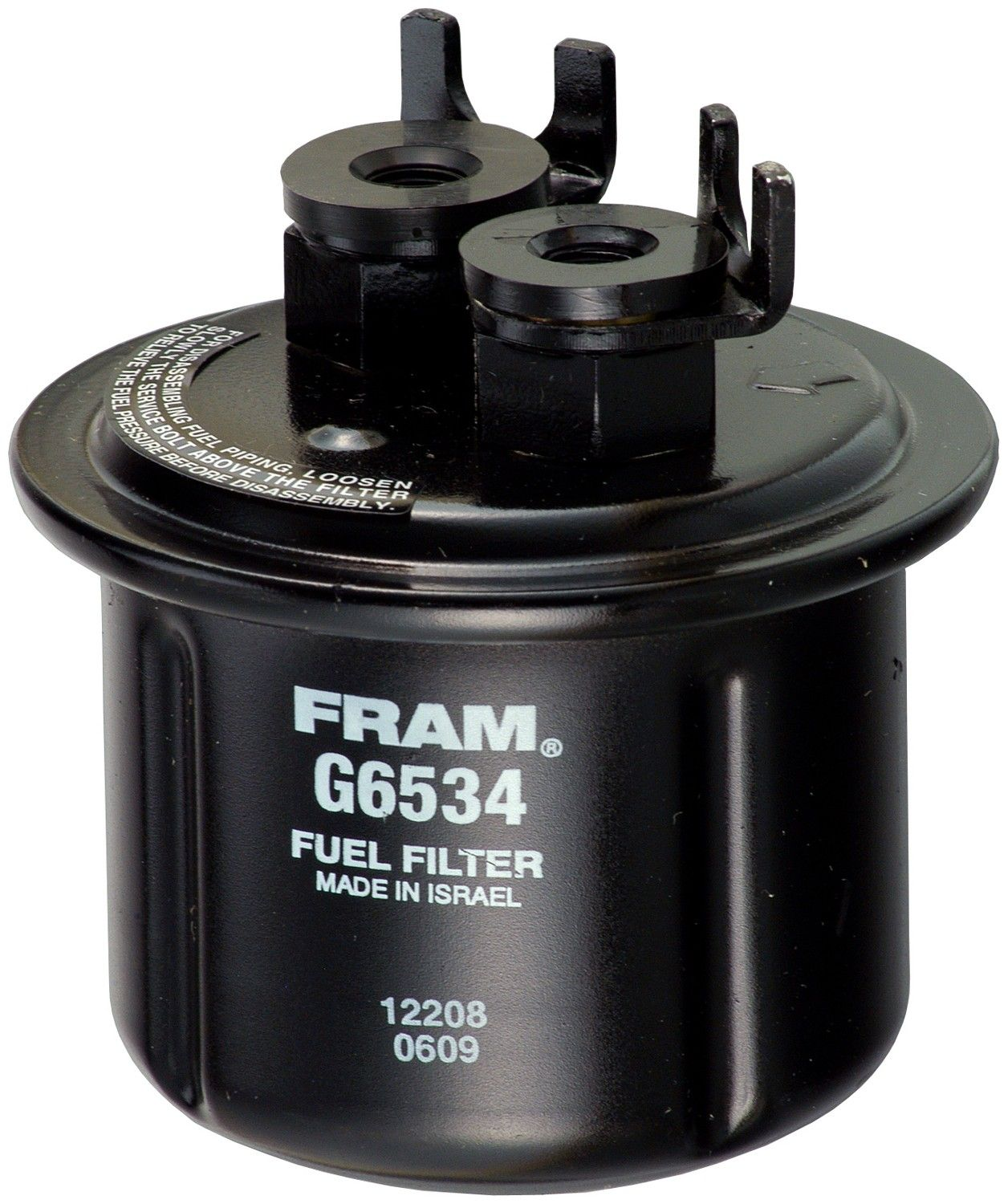 1988 Honda Civic Fuel Filter 4 Cyl 1.5L (Fram G6534) In-Line Fuel Filter  Unit box product .