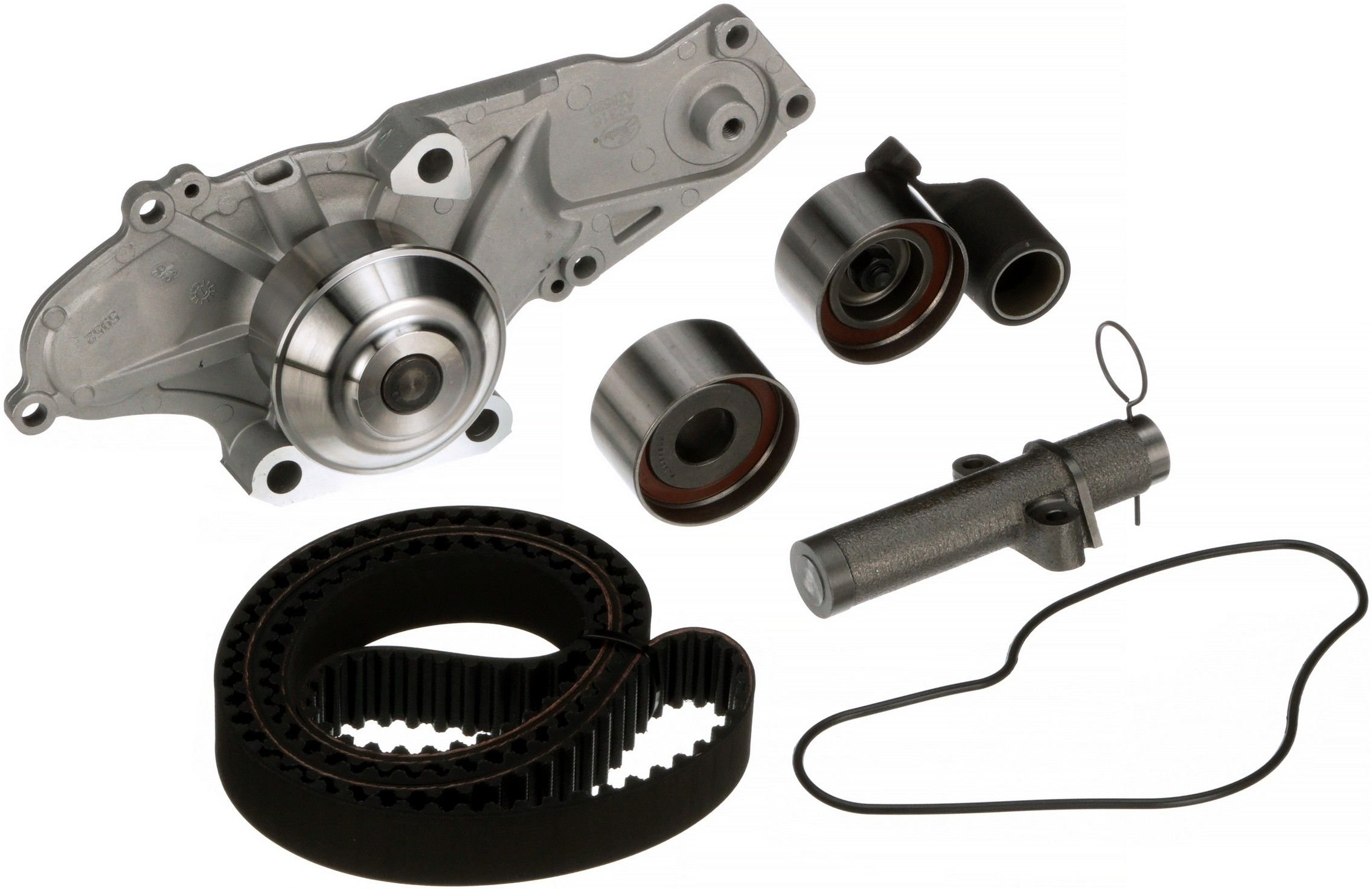 2003 Acura TL Engine Timing Belt Kit with Water Pump 6 Cyl 3.2L (Gates  TCKWP286) Interference engine application .