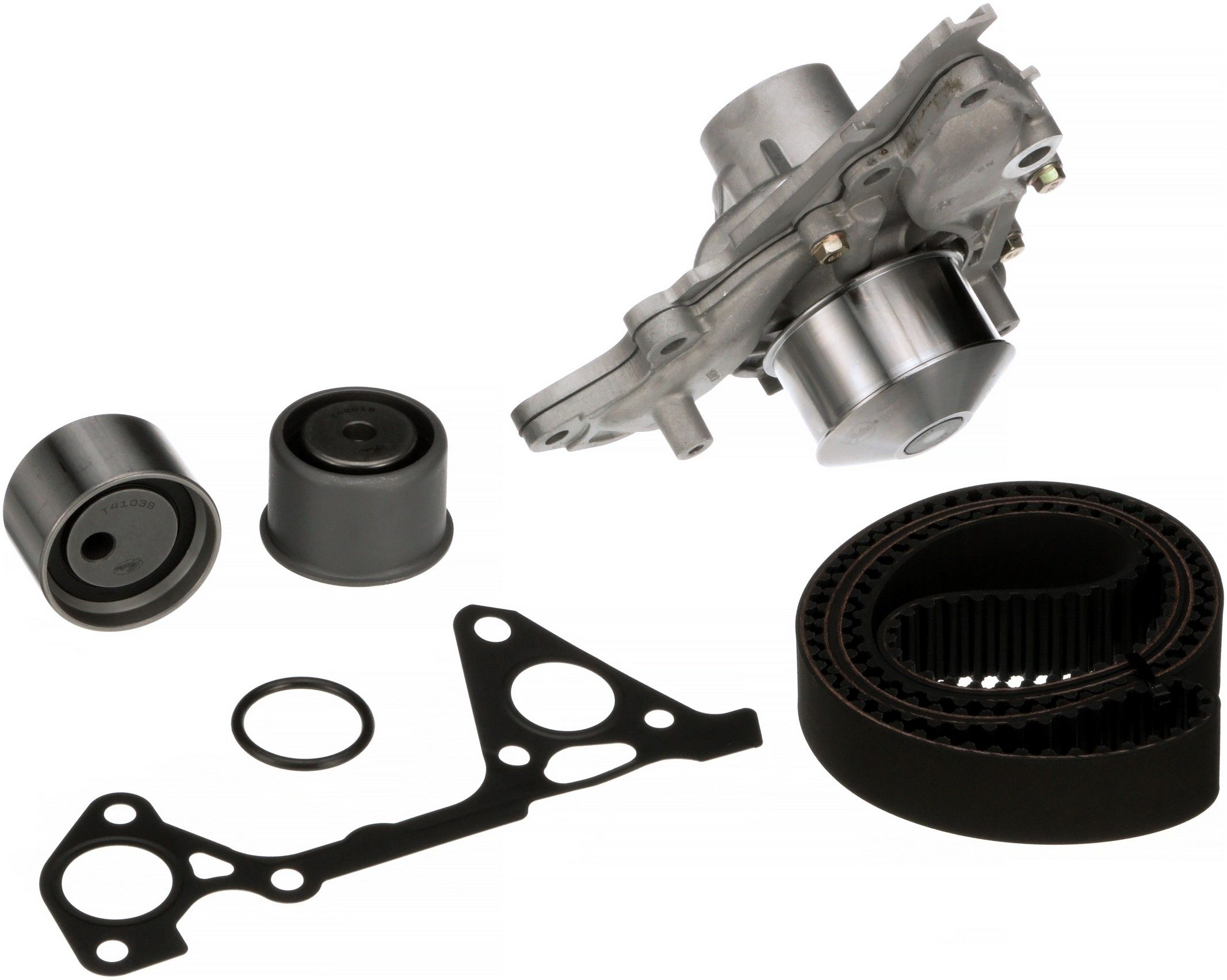 Mitsubishi Endeavor Engine Timing Belt Kit With Water Pump Wiring Harness 2006 Endevour 2004 6 Cyl 38l Gates Tckwp287 Sept 30 Older Interference Application