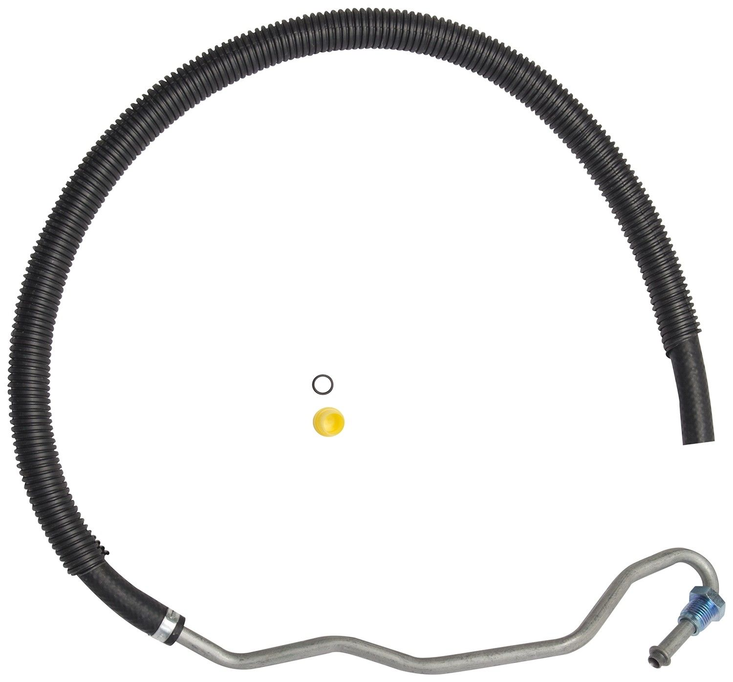 Pontiac Grand Am Power Steering Return Line Hose Assembly 1998 Gear To Cooler 6 Cyl 31l Gates 361010 Cut Fit