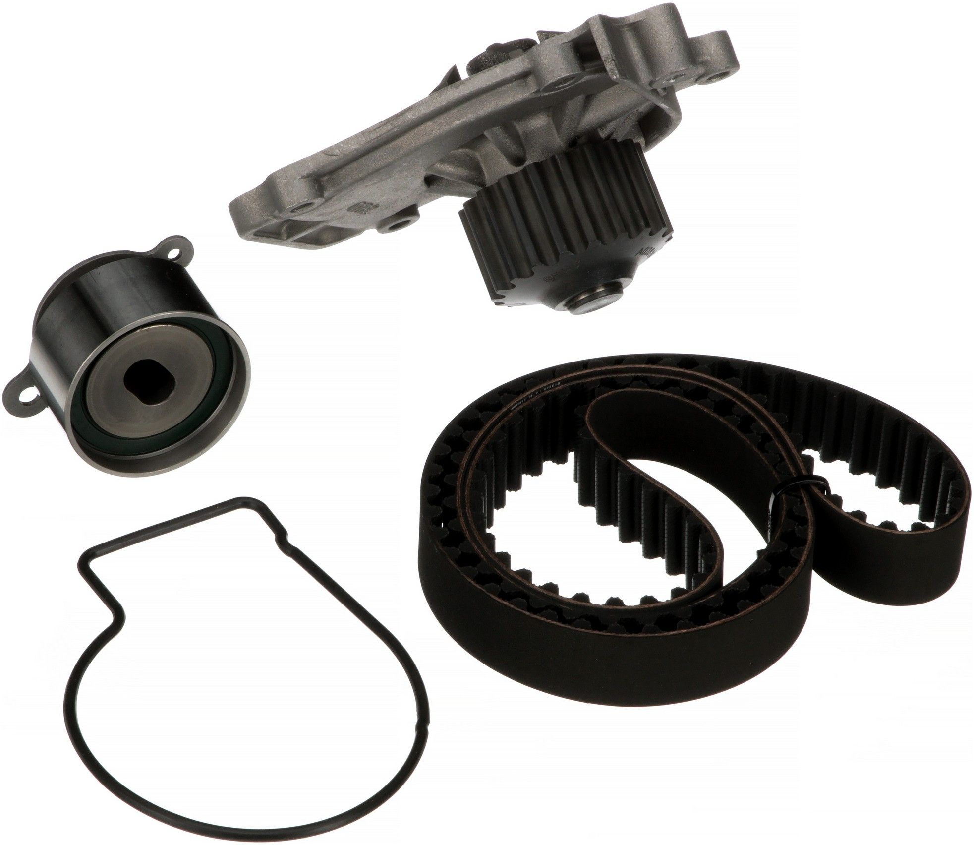 Honda Prelude Engine Timing Belt Kit With Water Pump Replacement 1990 4 Cyl 20l Gates Tckwp142 W Dohc Eng Interference Application