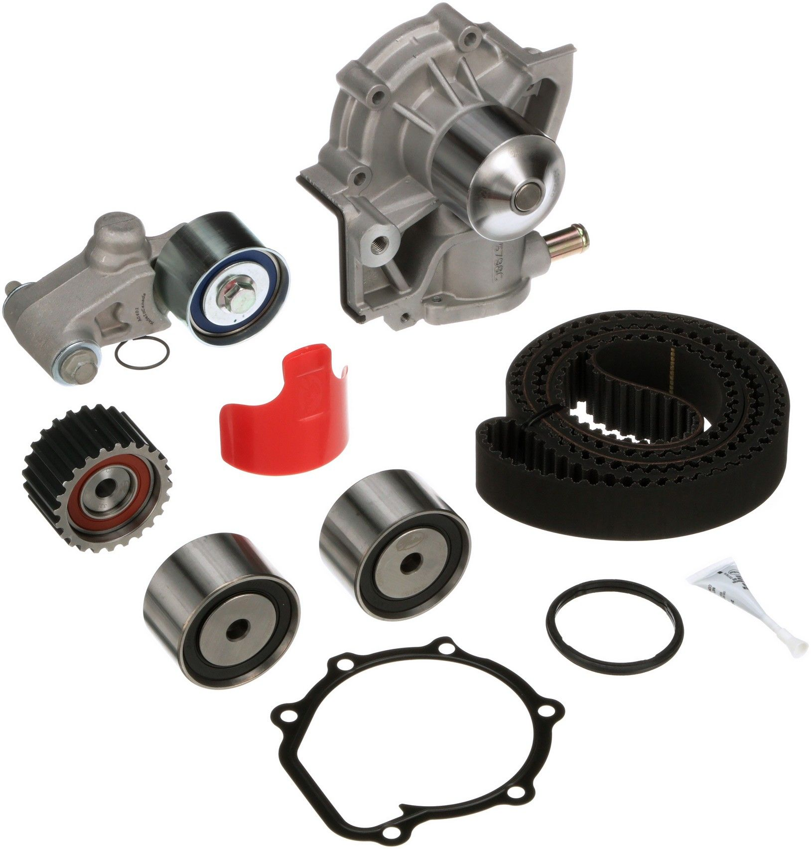 Subaru Legacy Engine Timing Belt Kit With Water Pump Replacement B4 Diagram 1999 4 Cyl 25l Gates Tckwp277a W Integrated Assembly Interference Application