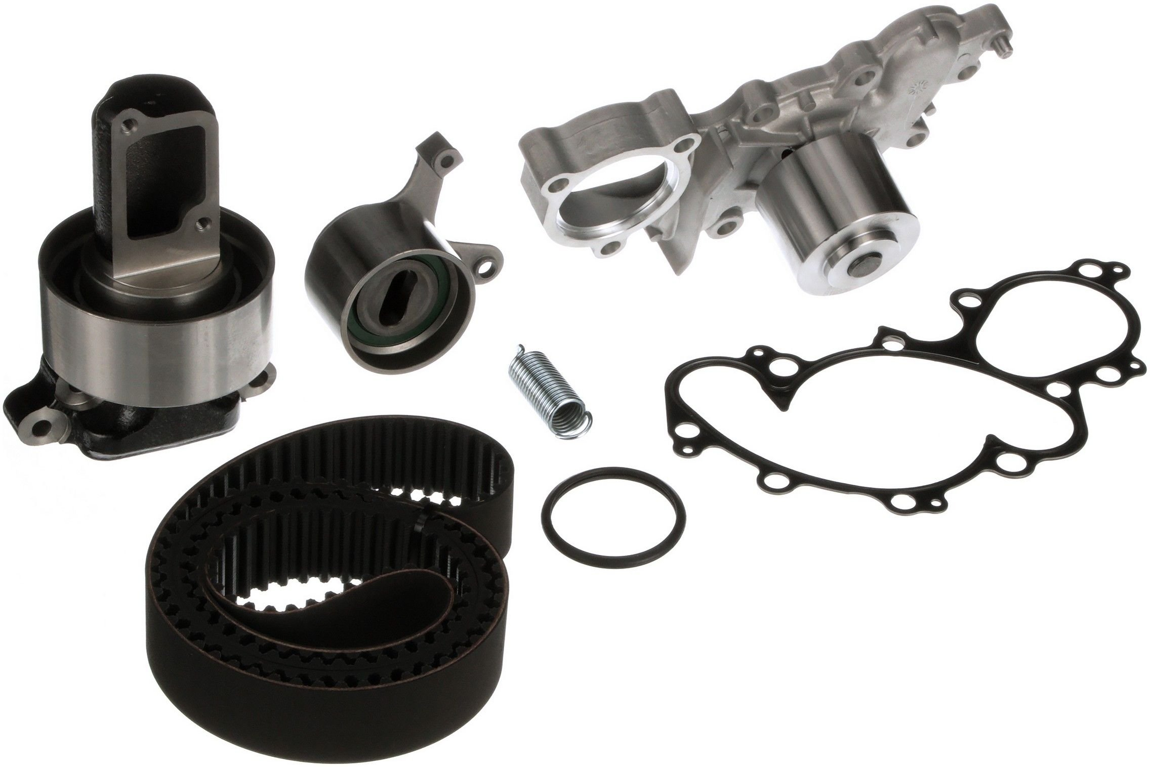 Toyota 4runner Engine Timing Belt Kit With Water Pump Replacement For 1989 6 Cyl 30l Gates Tckwp240d