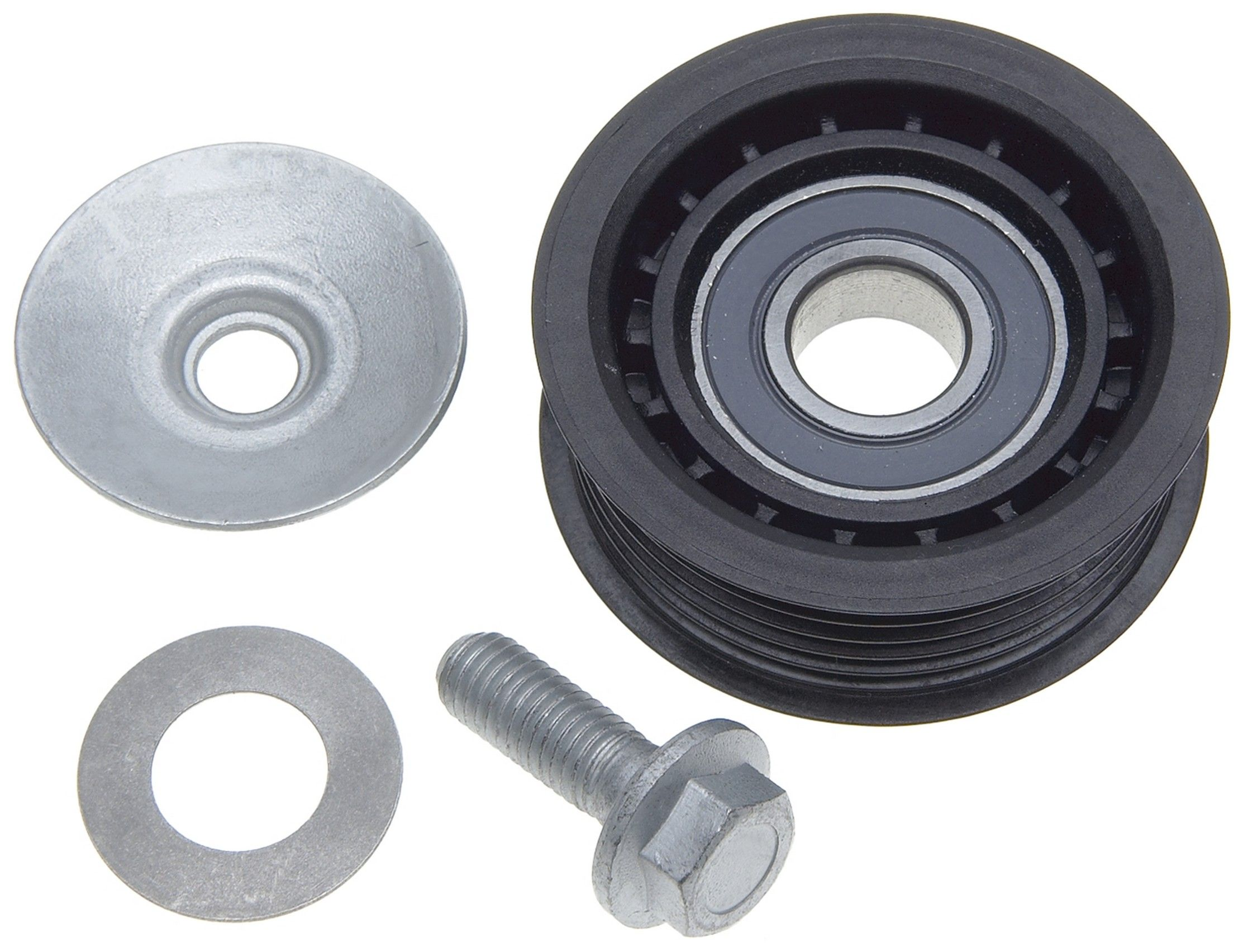Saab 9 5 Drive Belt Idler Pulley Replacement Acdelco Apa Uro Parts Timing 00 2003 Grooved 4 Cyl 23l Gates 36079