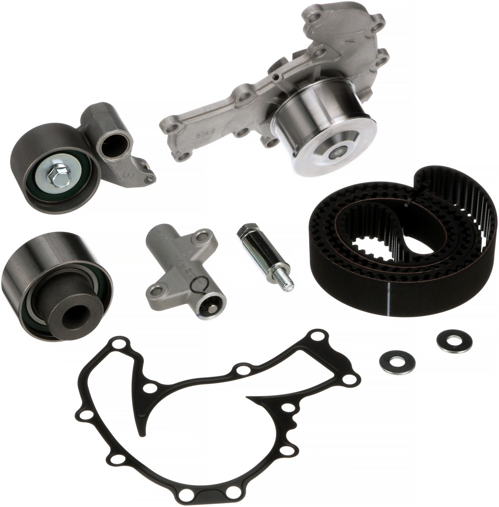 Honda Prelude Engine Timing Belt Kit With Water Pump Replacement 1992 Balancer 1996 4 Cyl 23l Gates Tckwp216 Interference Application