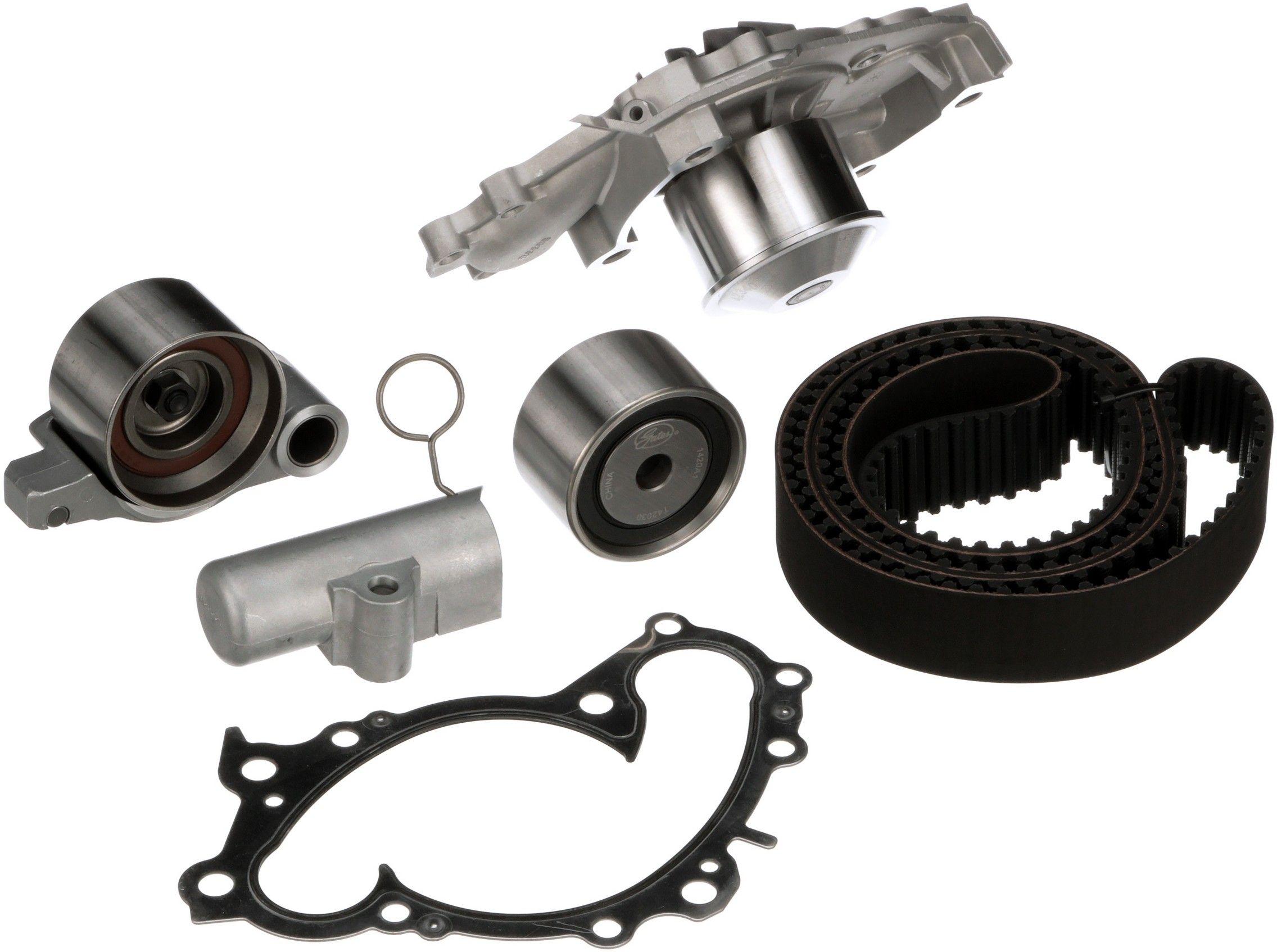 Lexus Es330 Engine Timing Belt Kit With Water Pump Replacement 1993 Es 300 2006 6 Cyl 33l Gates Tckwp257a