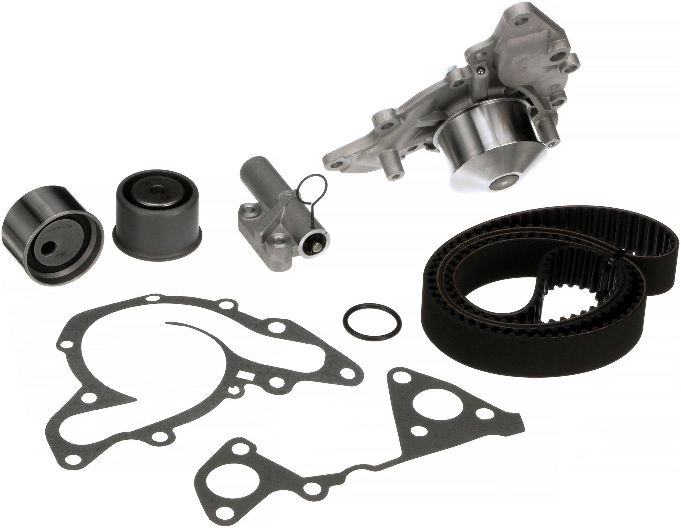 Mitsubishi Montero Sport Engine Timing Belt Kit With Water Pump 2001 2004 6 Cyl 35l Gates Tckwp287b W O Housing Interference Application