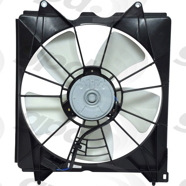 Honda Accord Engine Cooling Fan Assembly Replacement (APDI