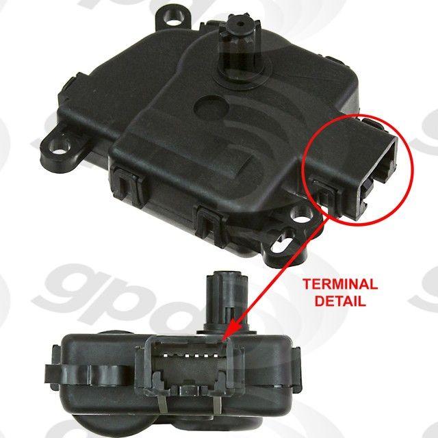 Ford Taurus X HVAC Heater Blend Door Actuator Replacement (Dorman