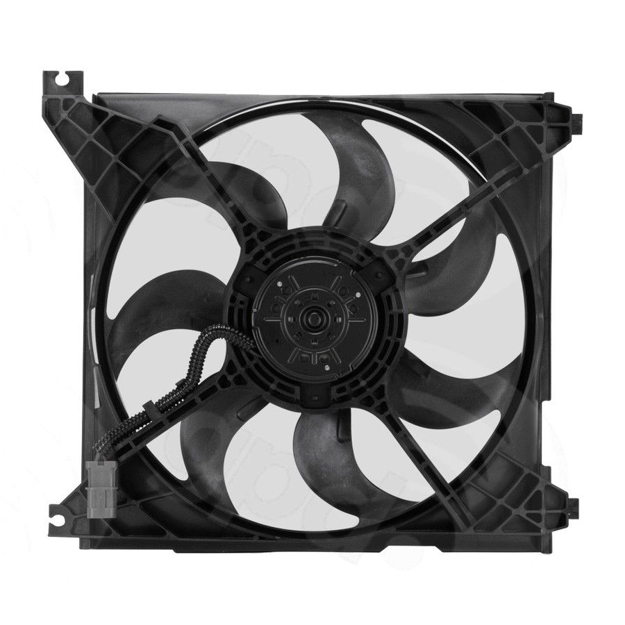 Hyundai Santa Fe Engine Cooling Fan Assembly Replacement Apdi Auto