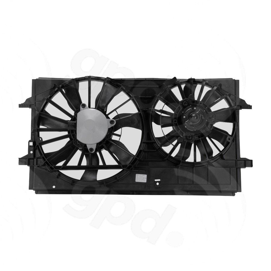Stupendous Saturn Aura Engine Cooling Fan Assembly Replacement Dorman Global Wiring Digital Resources Indicompassionincorg