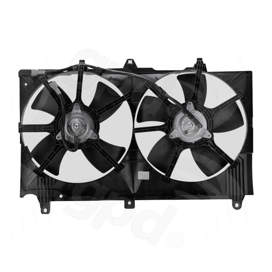 Nissan 350Z Engine Cooling Fan Assembly Replacement (Dorman