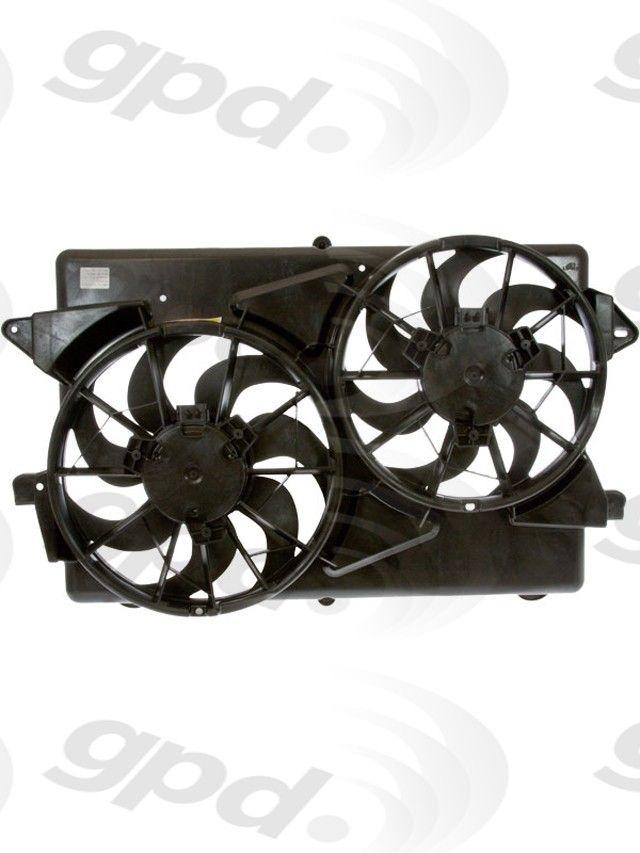 4 Seasons 75560 Engine Cooling Fan Assembly-Radiator Fan Assy