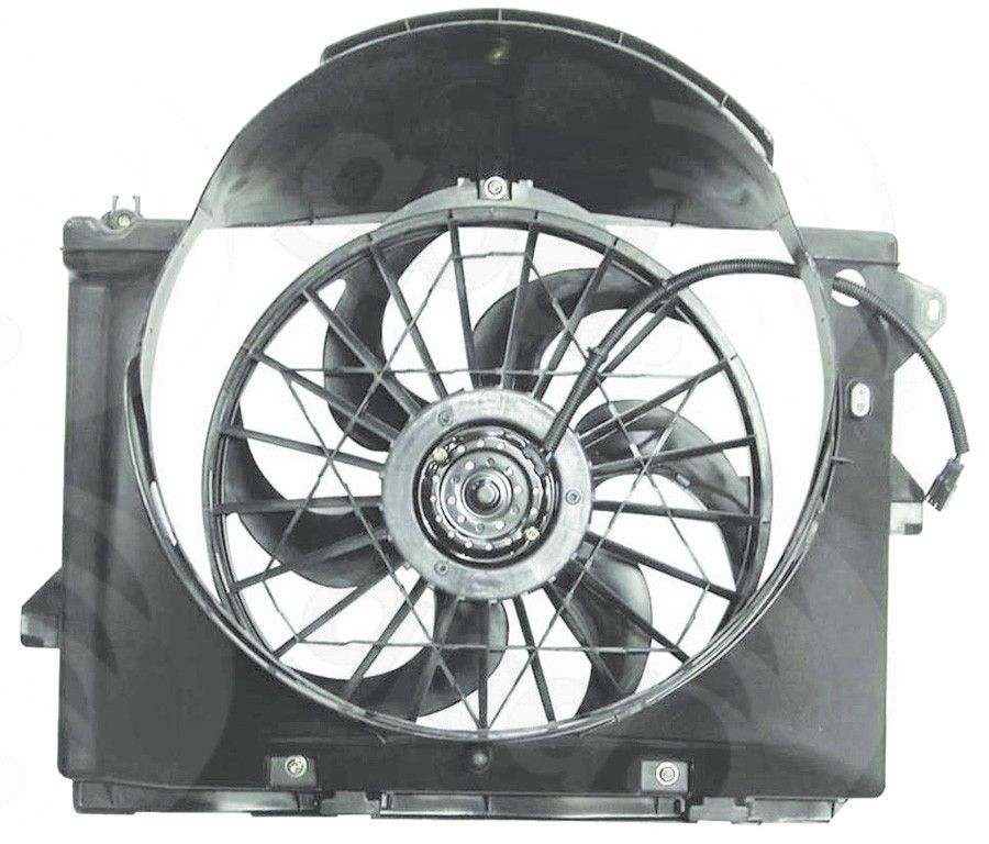 1990 lincoln town car engine diagram lincoln town car engine cooling fan assembly replacement  dorman  lincoln town car engine cooling fan