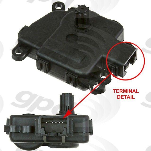 Ford F 150 HVAC Heater Blend Door Actuator Replacement
