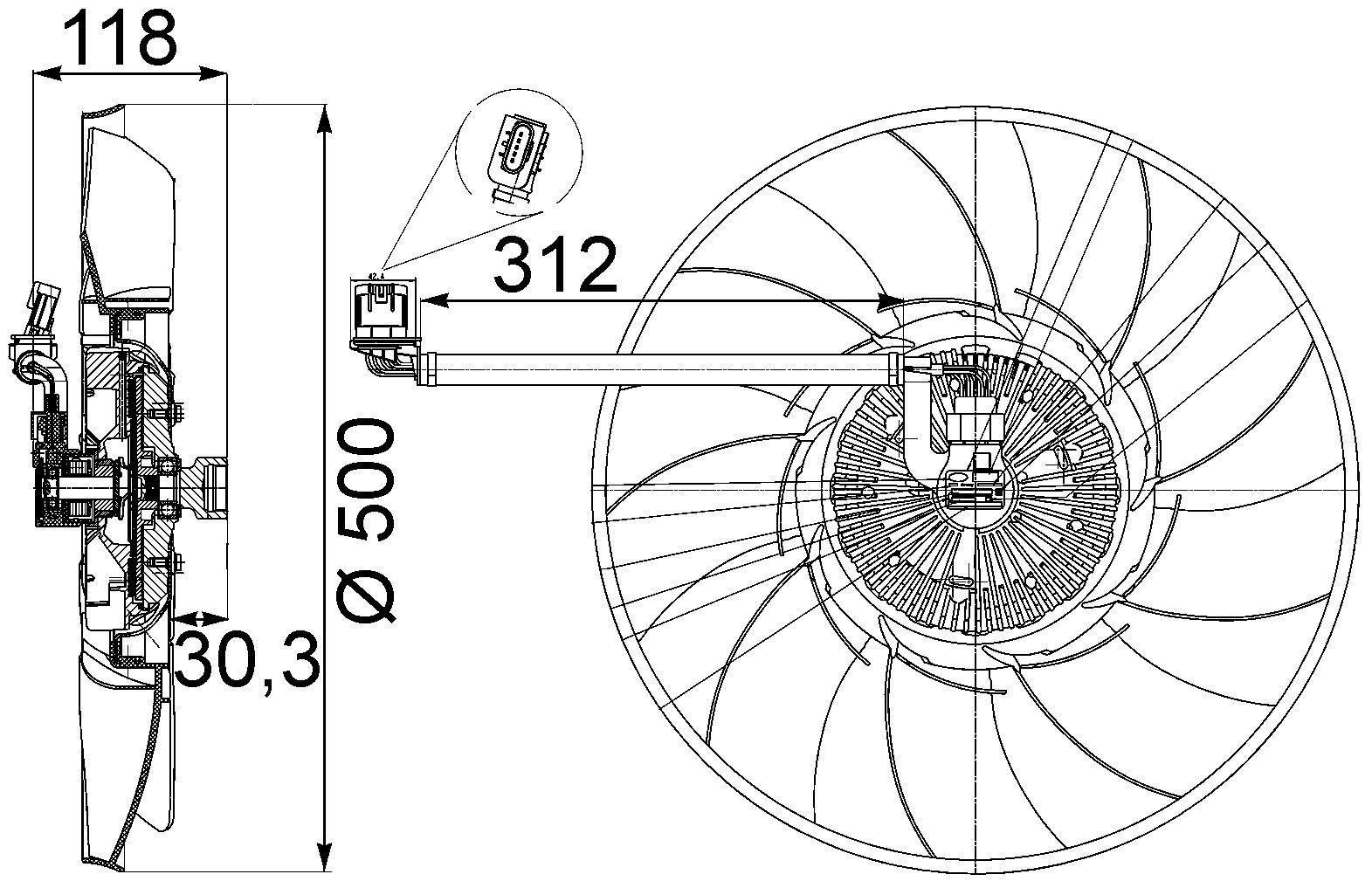 Land Rover Range Rover Engine Cooling Fan Clutch Replacement