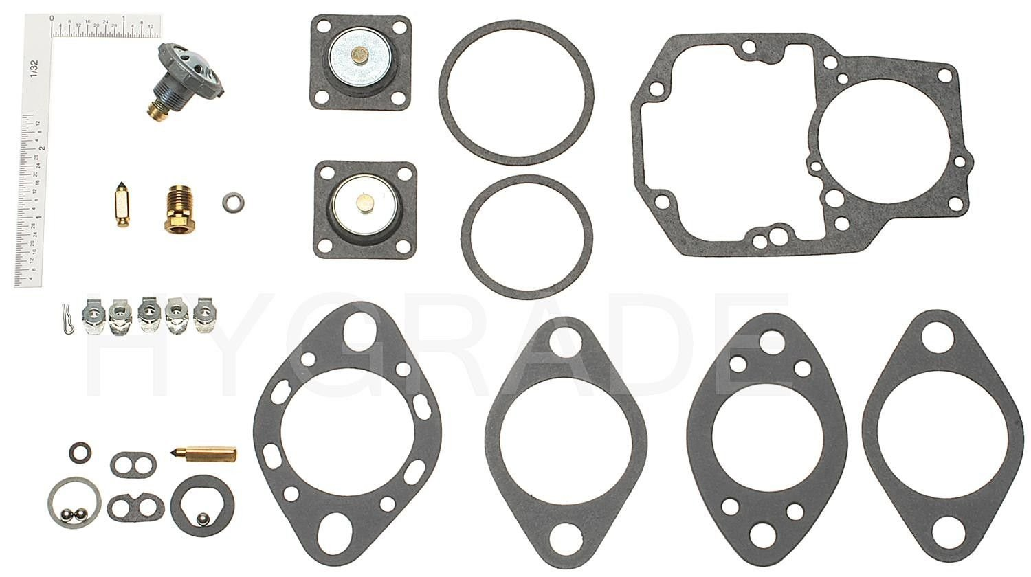 Ford F 250 Carburetor Repair Kit Replacement Hygrade Walker Go Wiring Harness Kits 1965 6 Cyl 39l 901 With Carb 1100 C3tf A B C D E U V Y Z C3uf G C4tf Av Ay Az Ba