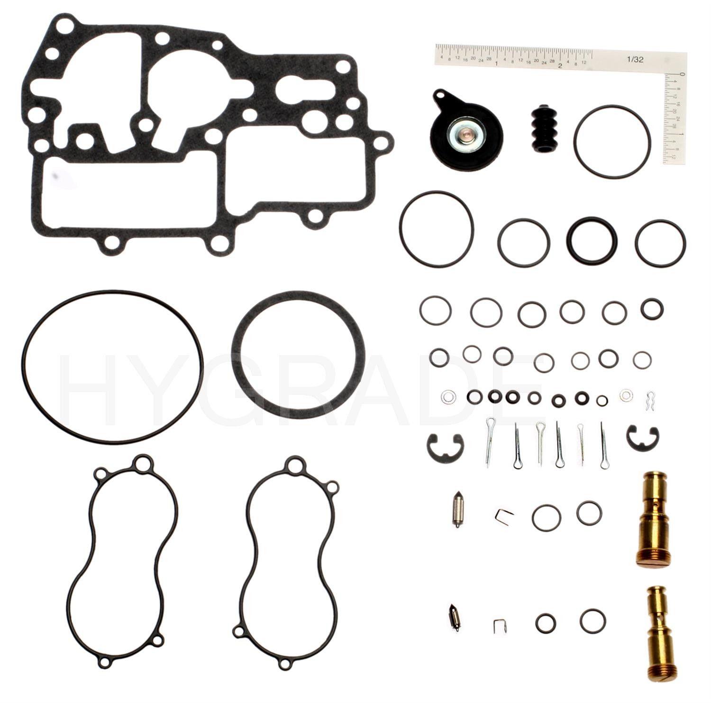 Honda Civic Carburetor Repair Kit Replacement (Hygrade, Royze