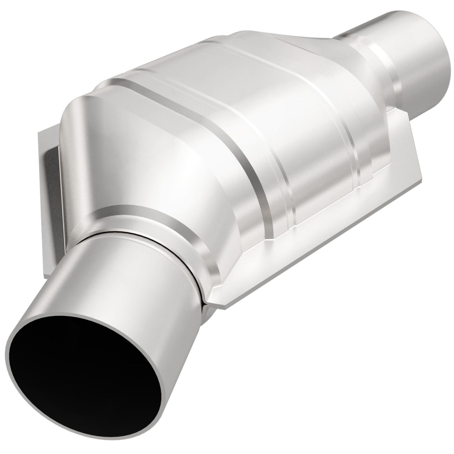 """Magnaflow 447206 Catalytic Converter Oval 2.5/"""" In//Out California CARB OBDII"""