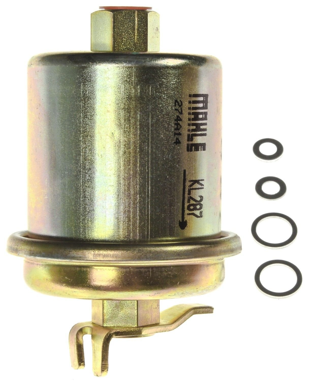 1994 Honda Accord Fuel Filter - In-Line 4 Cyl 2.2L (Mahle KL 287) Filter  Type In-line Fuel Filter .