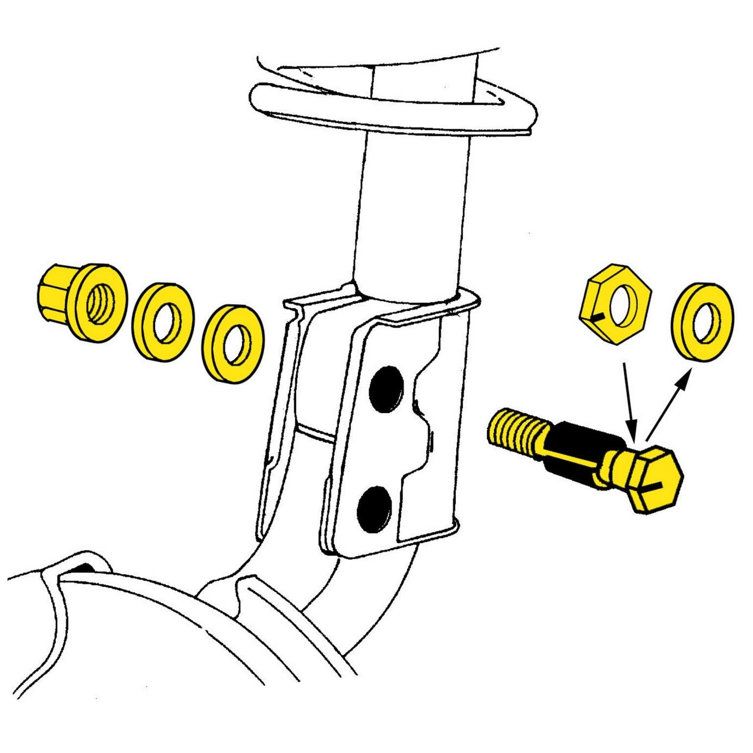 Alignment Camber Kit Front,Rear Moog K100024