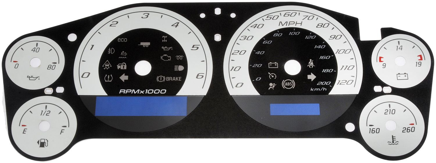 2007 chevy suburban instrument cluster