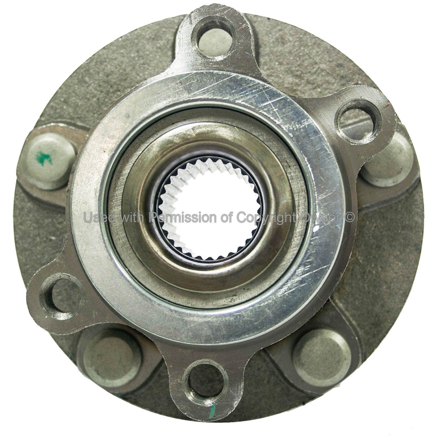 2007 Nissan Sentra Wheel Bearing and Hub Assembly - Front 4 Cyl 2.5L (MPA  WH513298) Wheel Hub Assembly Axle Nut Torque Spec: 92 ft-lbs / 125Nm ..