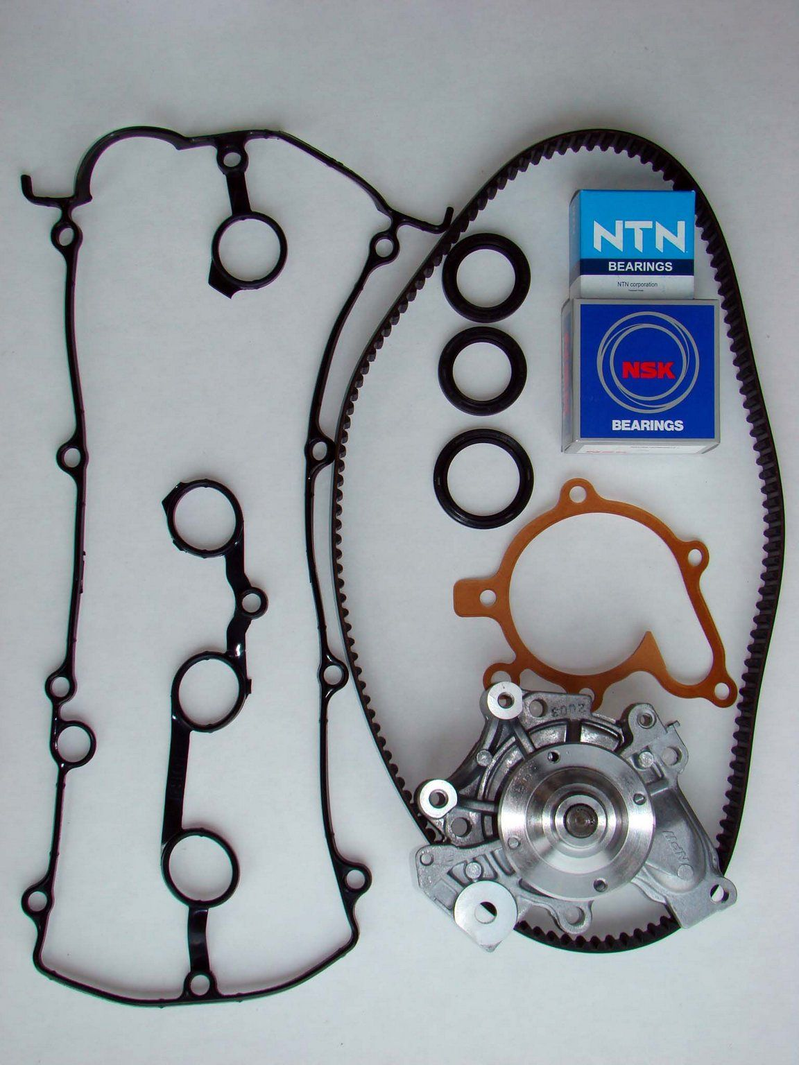 Mazda Mx 6 Engine Timing Belt Kit With Water Pump Replacement Mx6 Wiring Harness 1996 4 Cyl 20l Nitoma Tbk6003