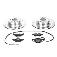 StopTech Disc Brake Pad Rotor Street Axle Pack SLT//DRL Front for Acura 938.40003