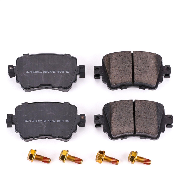 Beck Arnley Premium Asm Brake Pads With Hardware 085-6763