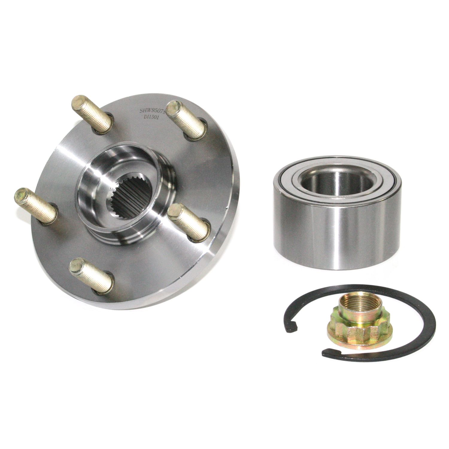 Toyota Rav4 Wheel Hub Repair Kit Replacement Pronto Go Parts 2001 Front 295 96077 This Contains Bearing Retaining Ring And Axle Nut