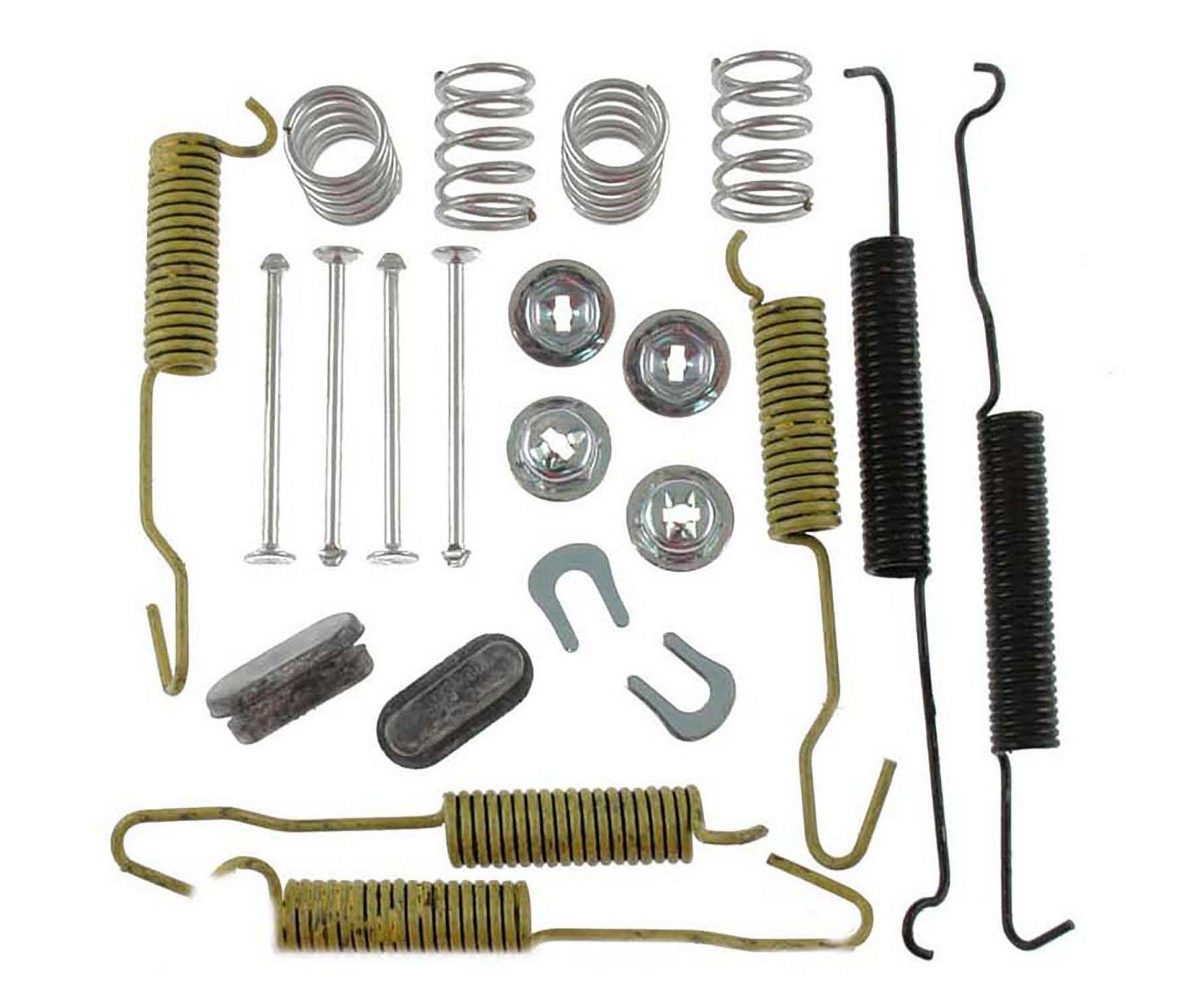 Drum Brake Hardware Kit-Front Disc Rear,Front Carlson H7129